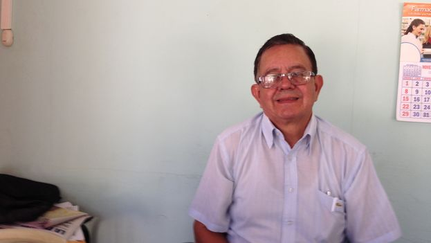El pastor Gerardo Obando. (Reinaldo Escobar)