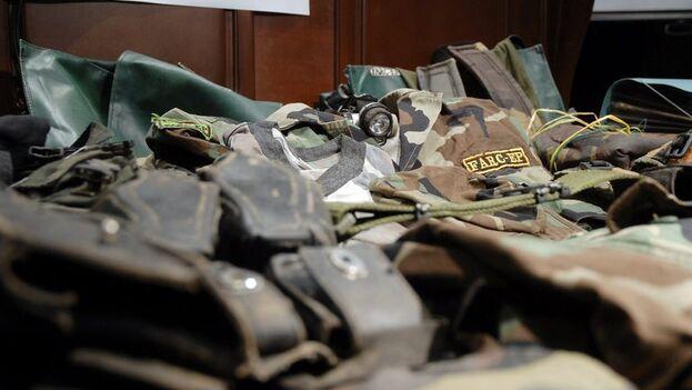El oro perteneciente a la antigua guerrilla de las FARC fue subastado y el dinero será invertido en programas para las víctimas del conflicto. (EFE/Juan Antonio Serrano/Archivo)