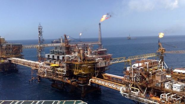 La plataforma de Campeche es una de las afectadas por el robo de crudo en México, según el presidente. (Campeche)