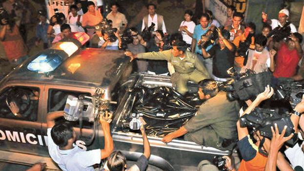 El 16 de abril de 2009 las fuerzas policiales intervinieron el piso en el que presuntamente se organizaba un alzamiento y atentado contra el Gobierno. (La Razón)