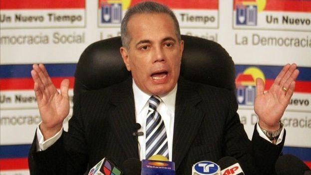 En la imagen, el político opositor venezolano Manuel Rosales. (EFE/Archivo)