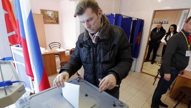 Es probable que los porcentajes de participación superen todos los pronósticos en las elecciones rusas de este domingo y alcancen niveles históricos. (EFE)