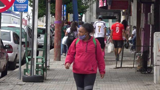 En los últimos meses se ha presentado en Uruguay un éxodo de cubanos que buscan de llegar a EE UU. (Captura)