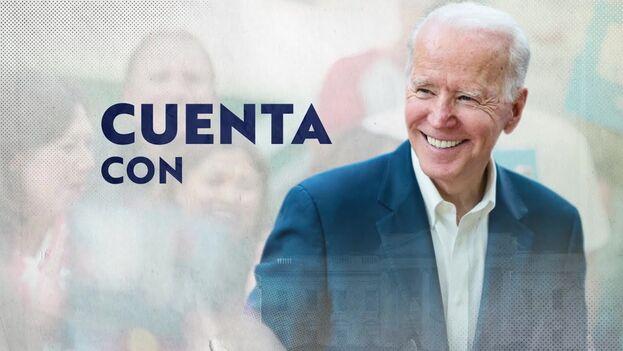 Los anuncios en español presentan a Biden como defensor de las familias de los trabajadores y cuestiona el manejo de Trump de la pandemia de covid -19. (youtube)