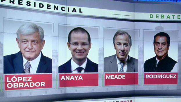 El debate demostró que la presidencia está entre dos candidatos: Anaya y López Obrador. (Univisión)