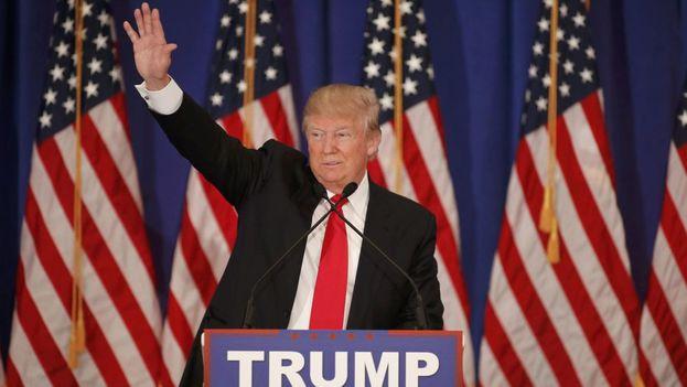 El candidato ganador a la presidencia de Estados Unidos, Donald Trump. (EFE)