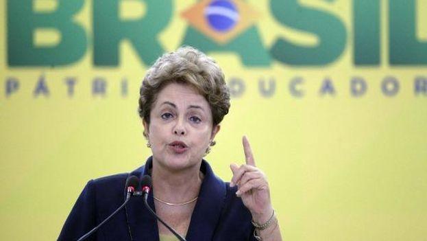 La presidenta de Brasil, Dilma Rousseff. (EFE)