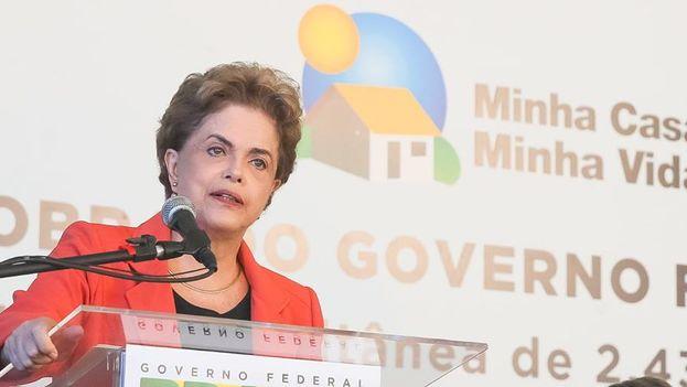 La presidenta de Brasil, Dilma Rousseff. (Facebook)