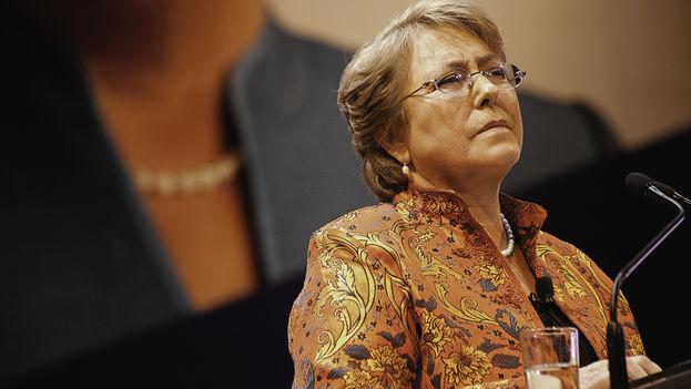 La presidenta de Chile, Michelle Bachelet. (Wikicommons)