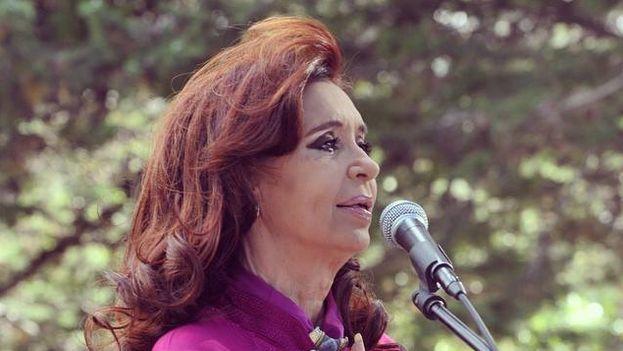 La presidenta argentina, Cristina Fernández. (Facebook)