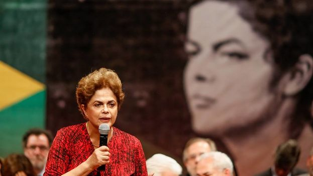 La presidenta brasileña suspendida, Dilma Rousseff. (Facebook)