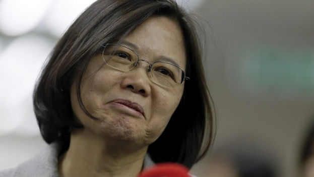 La presidenta taiwanesa, Tsai Ing-wen. (EFE)