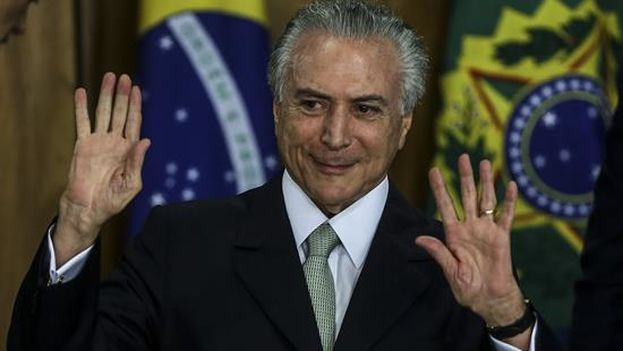 El presidente interino de Brasil, Michel Temer. (EFE)