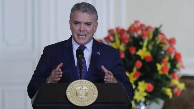 El presidente de Colombia, Iván Duque. (EFE)