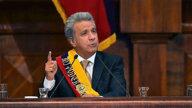 El presidente de Ecuador, Lenín Moreno. (EFE)