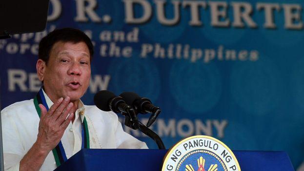 El presidente de Filipinas, Rodrigo Duterte. (Wikicommons)