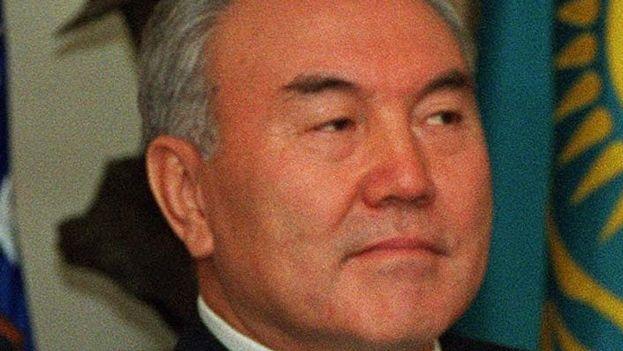 El presidente de Kazajstán, Nursultán Nazarbáyev. (Wikicommons)