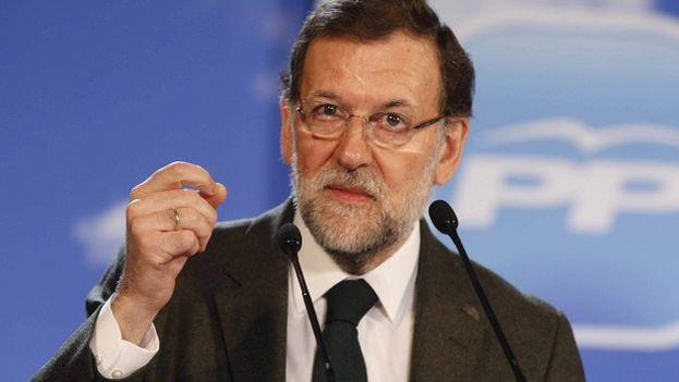 El presidente del gobierno español, Mariano Rajoy (Foto EFE)