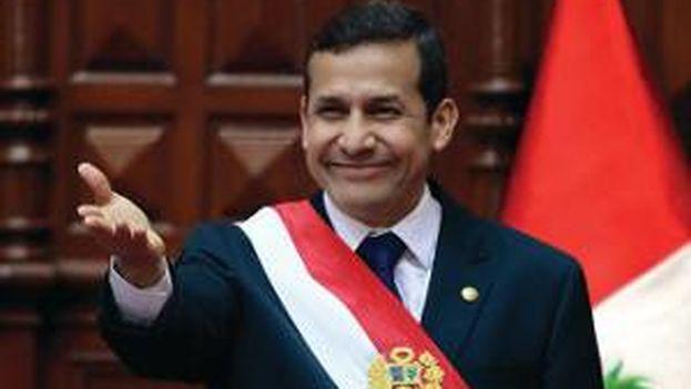 El presidente peruano, Ollanta Humala. (Presidencia de Perú)
