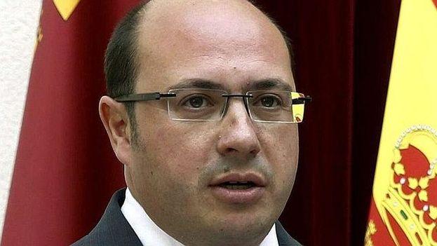 El presidente murciano Pedro Antonio Sánchez. (EFE)