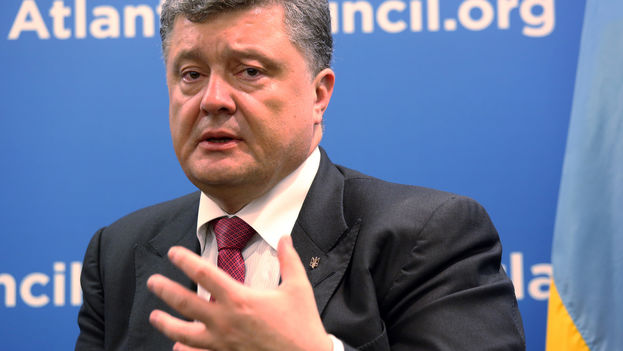 El presidente ucraniano, Petró Poroshenko. (Atlantic Council/Flickr)