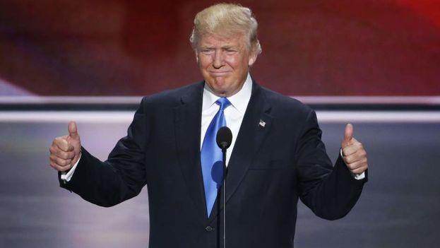 El presidente electo de Estados Unidos Donald Trump. (EFE)