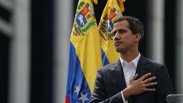 El presidente interino de Venezuela, Juan Guaidó. (EFE)
