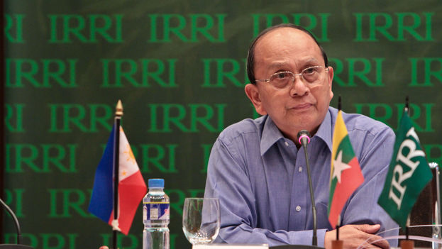 El presidente birmano, Thein Sein. (Wikicommons)