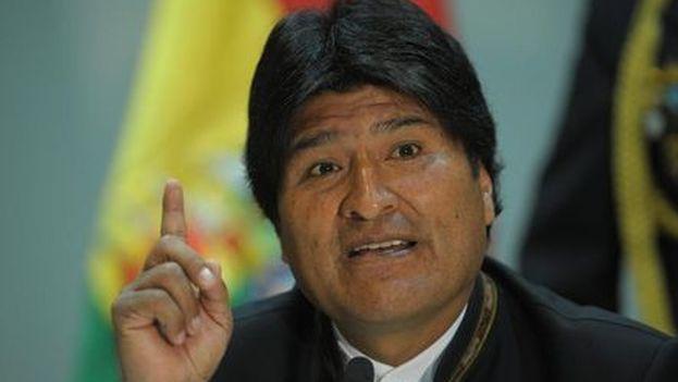El presidente boliviano Evo Morales. (EFE)