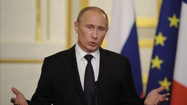 El presidente ruso, Vladimir Putin. (EFE)