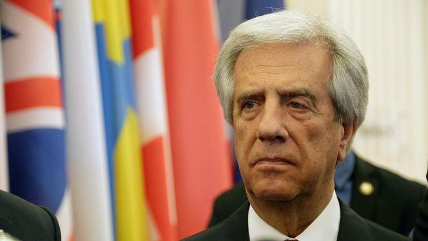 El presidente uruguayo, Tabaré Vázquez. (OECD)