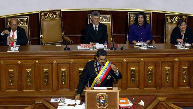 El presidente venezolano, Nicolás Maduro. (Facebook)