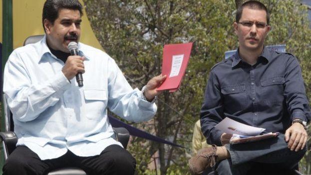 """El presidente venezolano propuso """"un debate nacional de la ley aberrante y criminal"""" de amnistía. (Twitter)"""