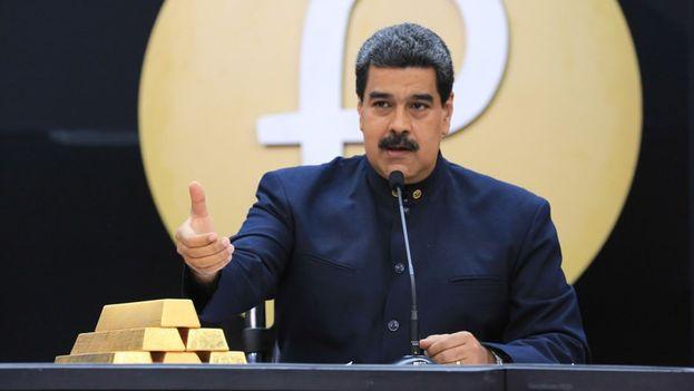 El presidente venezolano anunció la entrada en vigor de un nuevo cono monetario para el próximo 4 de junio. (@NicolasMaduro)