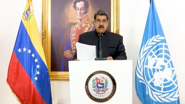 El presidente venezolano denunció que las sanciones económicas se han incrementado y que ésta es la causa de la crisis humanitaria que padece su país. (ONU)