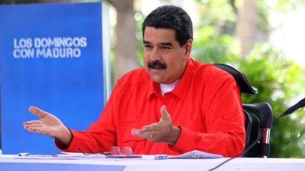 El presidente venezolano llamó a la oposición al diálogo cuando falta una sola semana para la votación de la Constituyente. (@NicolasMaduro)