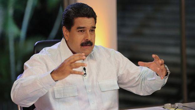 El presidente venezolano este martes en su programa En contacto con Maduro. (@NicolasMaduro)