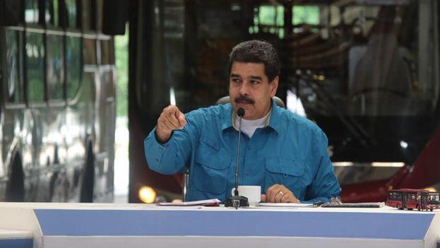 El presidente venezolano durante su programa dominical. (@prensapresidencial)