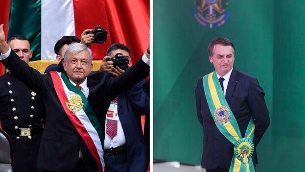 Los presidentes de ambos países están viendo cuestionados sus liderazgos por la gestión de la pandemia. (wikimedia)