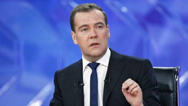 El primer ministro ruso, Dimitri Medvedev. (EFE)