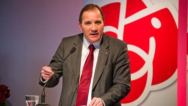 El primer ministro sueco Stefan Löfven. (Facebook)