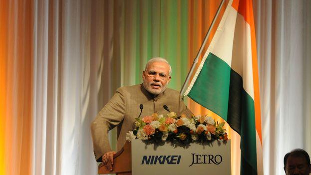 El primer ministro indio, Narendra Modi. (Narendra Modi)