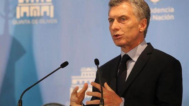 El régimen de blanqueo fue propuesto en mayo pasado por el Gobierno de Mauricio Macri. (EFE)