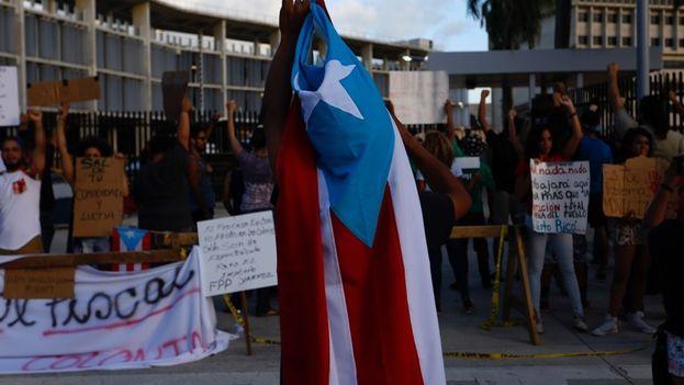 Este domingo 11 de junio los puertorriqueños decidirán el futuro de la isla respecto a su relación con Estados Unidos. (EFE)