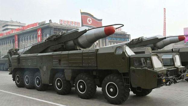 """Si los aliados tratan de quebrantar dicha soberanía """"los ataques ultraprecisos"""" de las tropas norcoreanas """"se realizarán sin piedad en tierra, aire, y mar"""". (EFE)"""