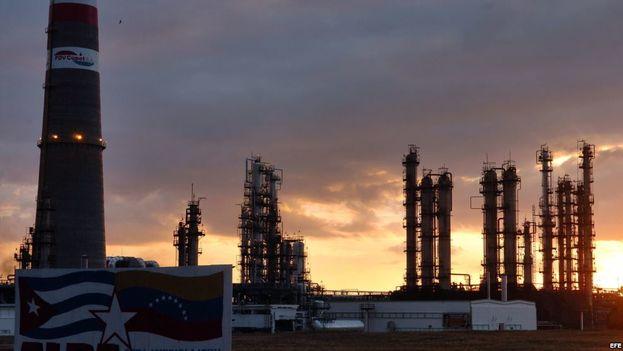 La refinería de capital cubano y venezolano Camilo Cienfuegos. (EFE)