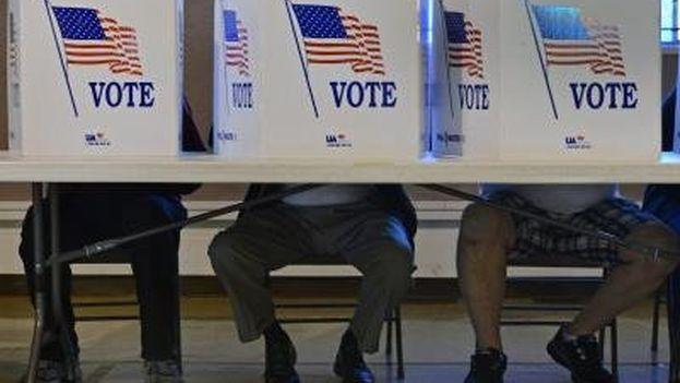 Un posible triunfo republicano es un escenario que preocupa al 81% de los demócratas. (EFE)