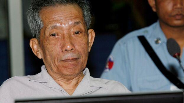 El responsable jemer fue responsable de la tortura y muerte de mas de 12.000 personas en la prisión S-21 (Tuol Sleng) en la capital camboyana. (EFE)