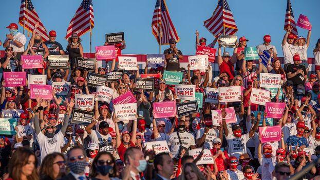 """El """"estado del sol"""" otra vez puede ser decisivo en el resultado de una elección presidencial en EE UU. (EFE)"""