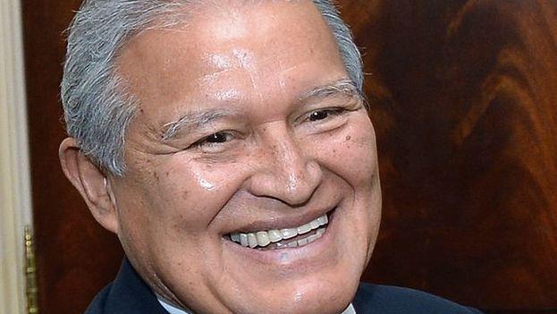 El presidente salvadoreño, Salvador Sánchez Cerén. (Wikimedia)